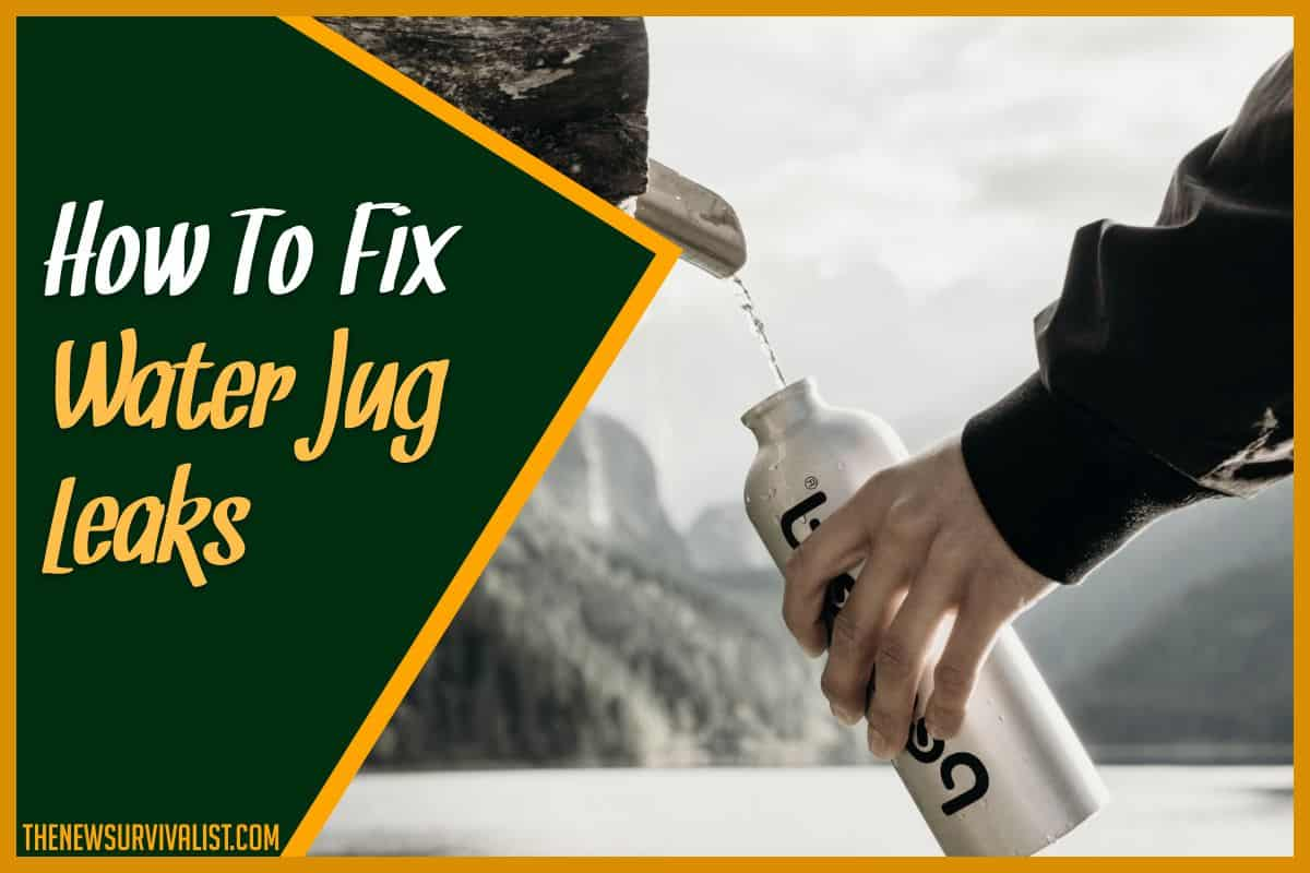 How To Fix Water Jug Leaks