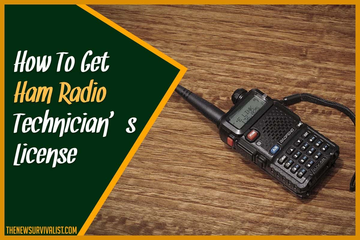 How To Get Ham Radio Technician's License