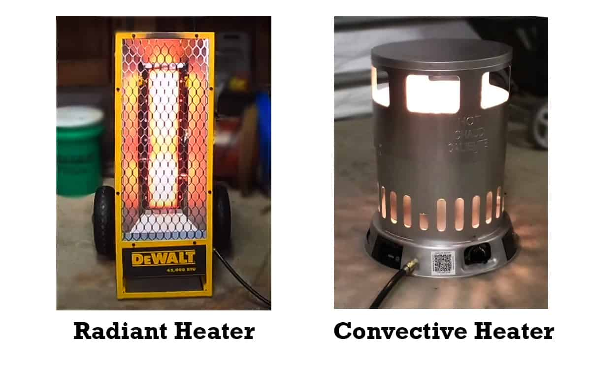 types of heater