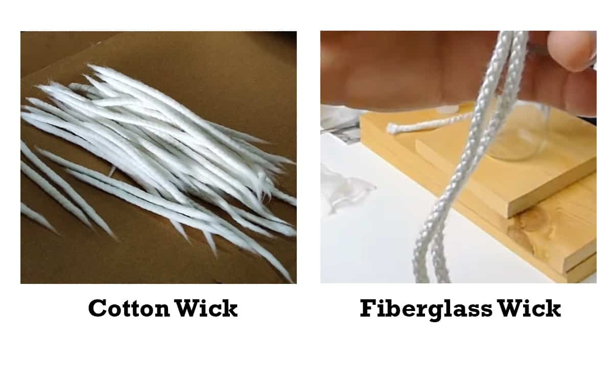 types of wick