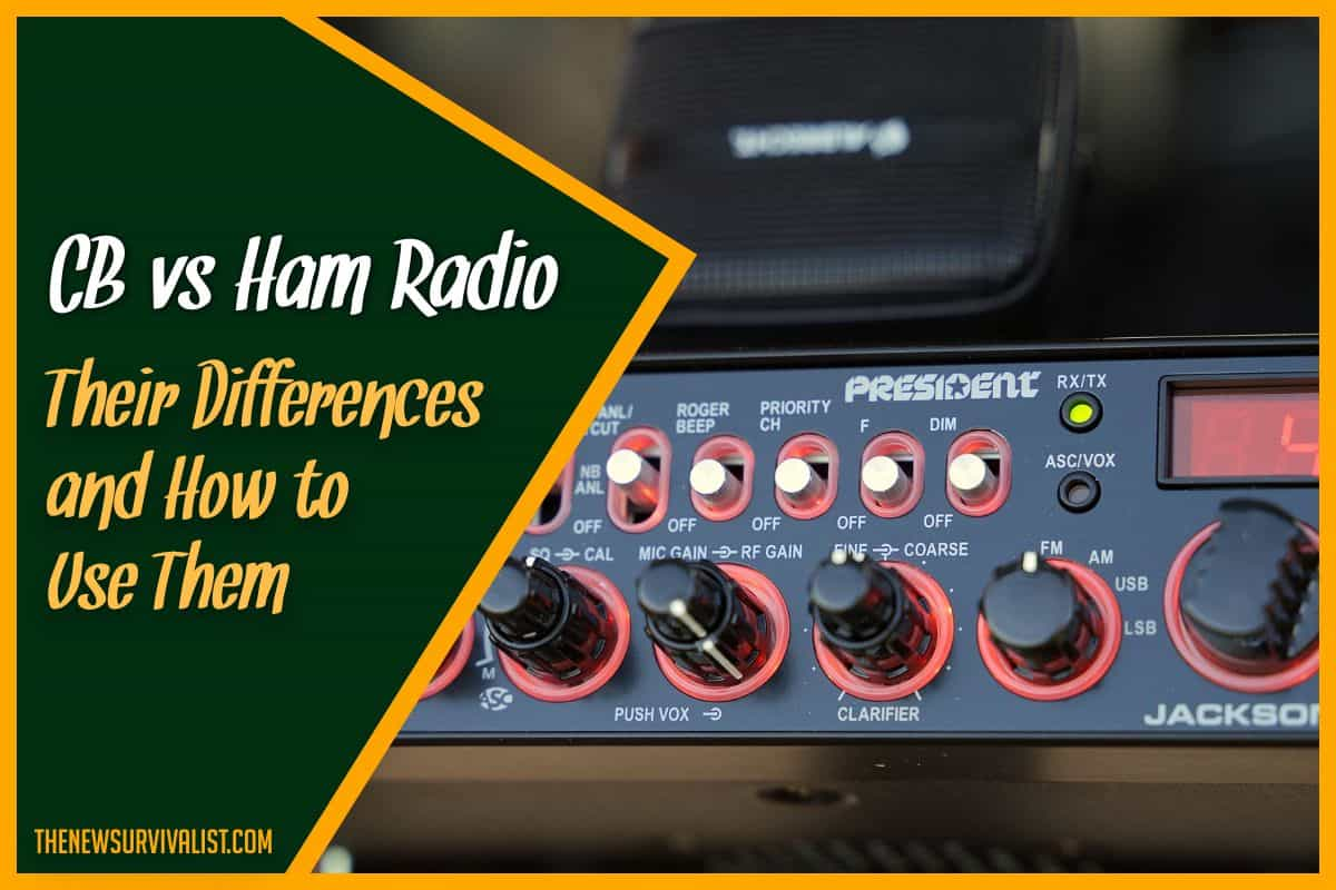 CB vs Ham Radio Their Differences and How to Use Them