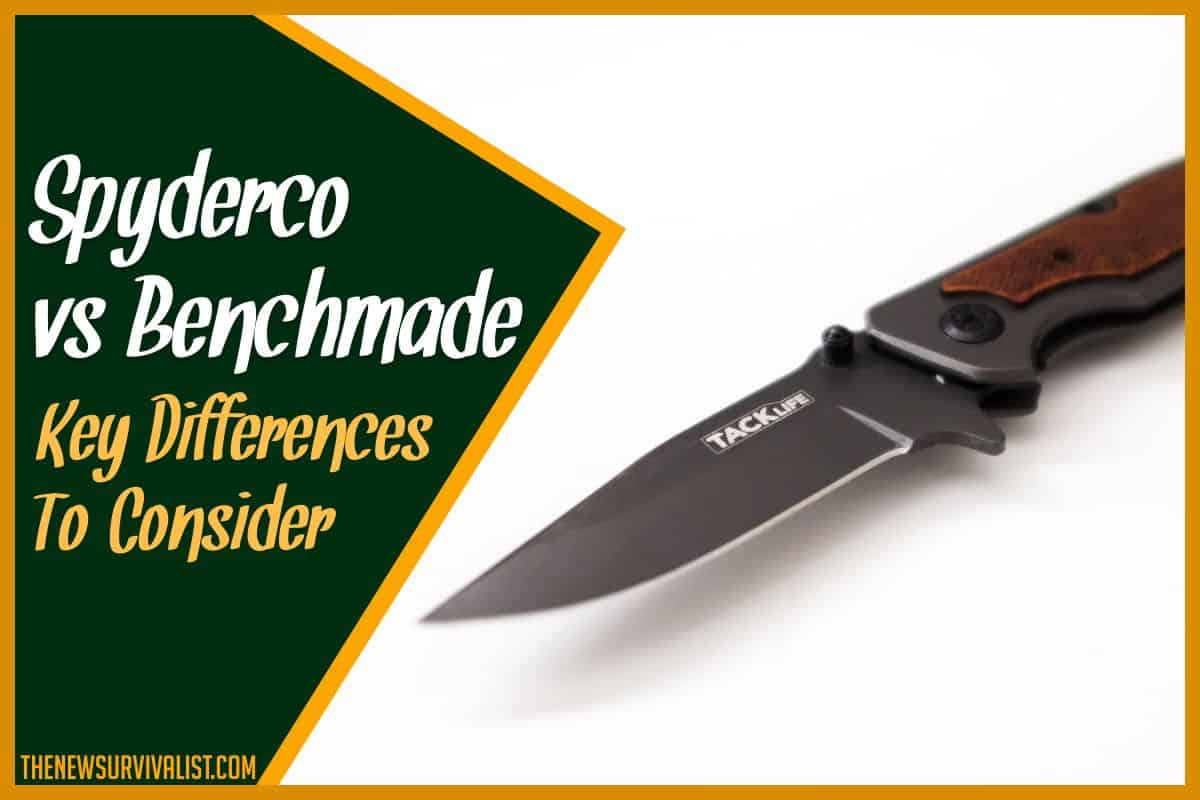 Spyderco vs Benchmade Key Differences to Consider