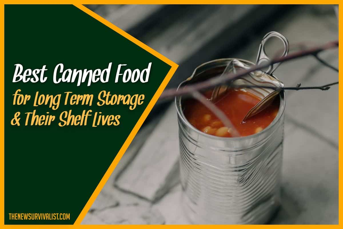 Best Canned Food for Long Term Storage & Their Shelf Lives