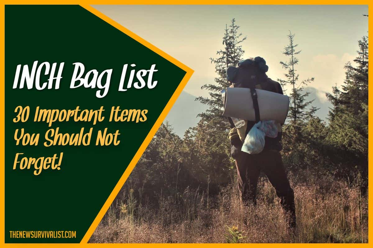 INCH Bag List 30 Important Items You Shouldn't Forget!