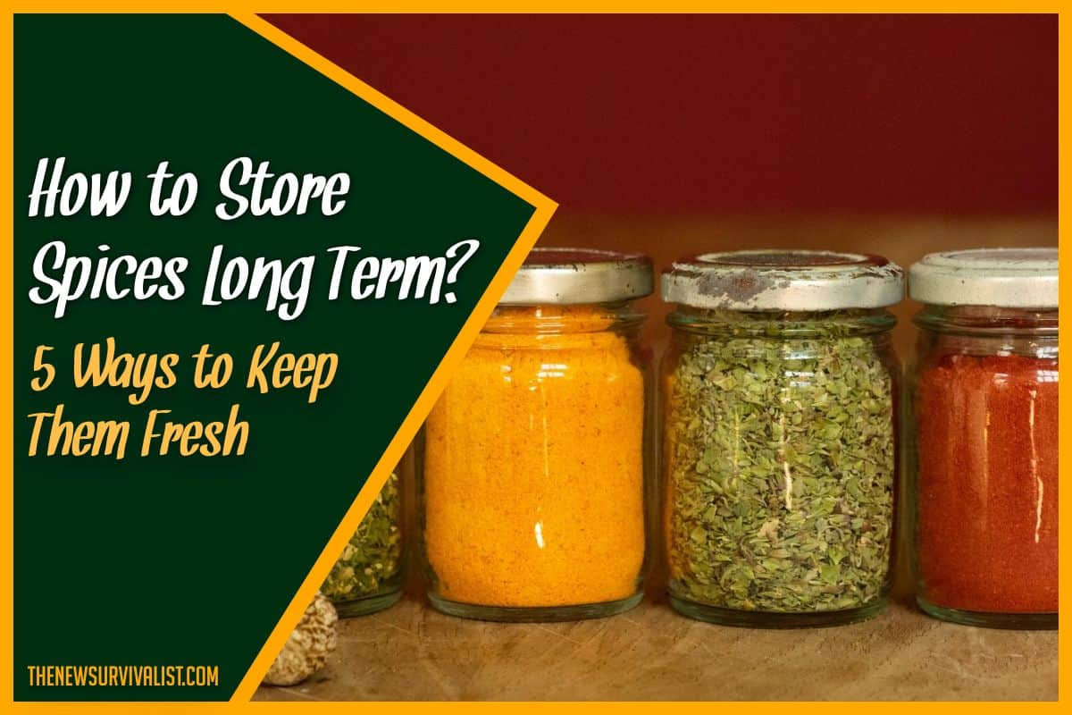 How to Store Spices Long Term 5 Ways to Keep Them Fresh