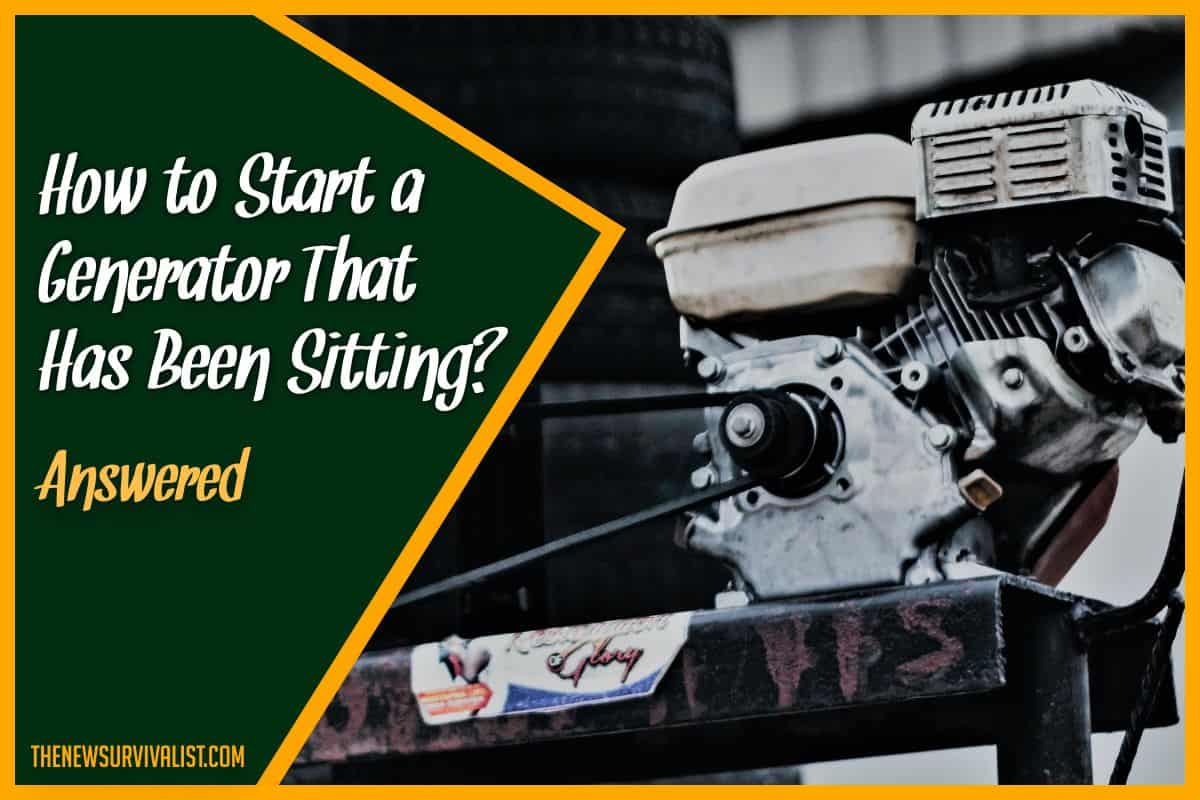 How to Start a Generator that has been Sitting - Answered
