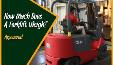 How Much Does A Forklift Weight #Answered