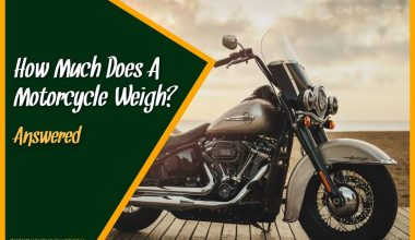 How Much Does A Motorcycle Weigh #Answered