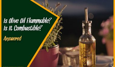 Is Olive Oil Flammable Is It Combustible #Answered